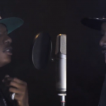 VIDEO: 2face Idibia & Wizkid Studio Session #HennessyArtistry2014