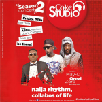MAY D, OREZI, AND ZORO BILLED FOR ABSU COKE STUDIO AFRICA CONCERT
