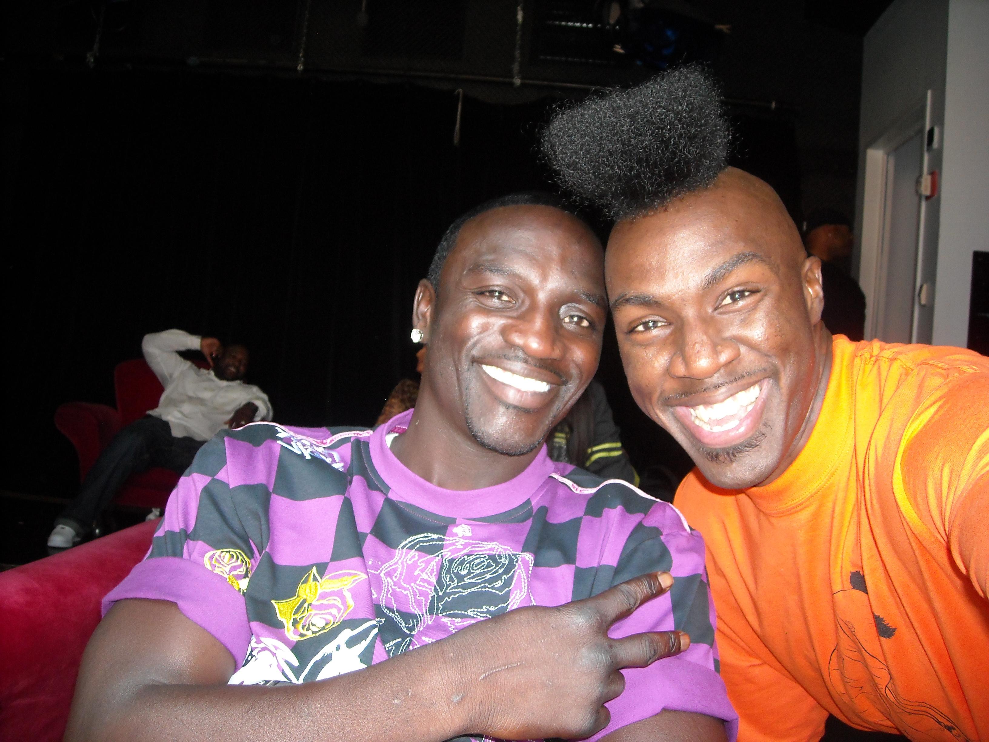 Akon and DJ Benny D