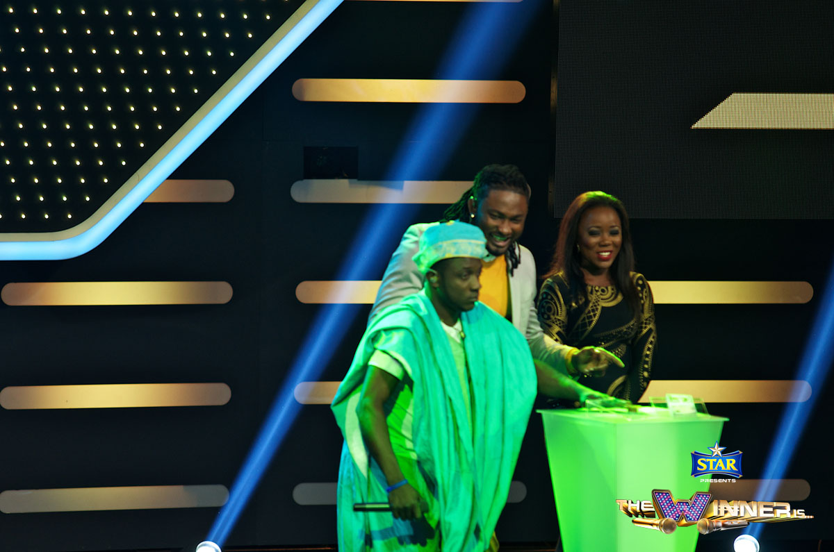Damilare walks away with 100,000 naira