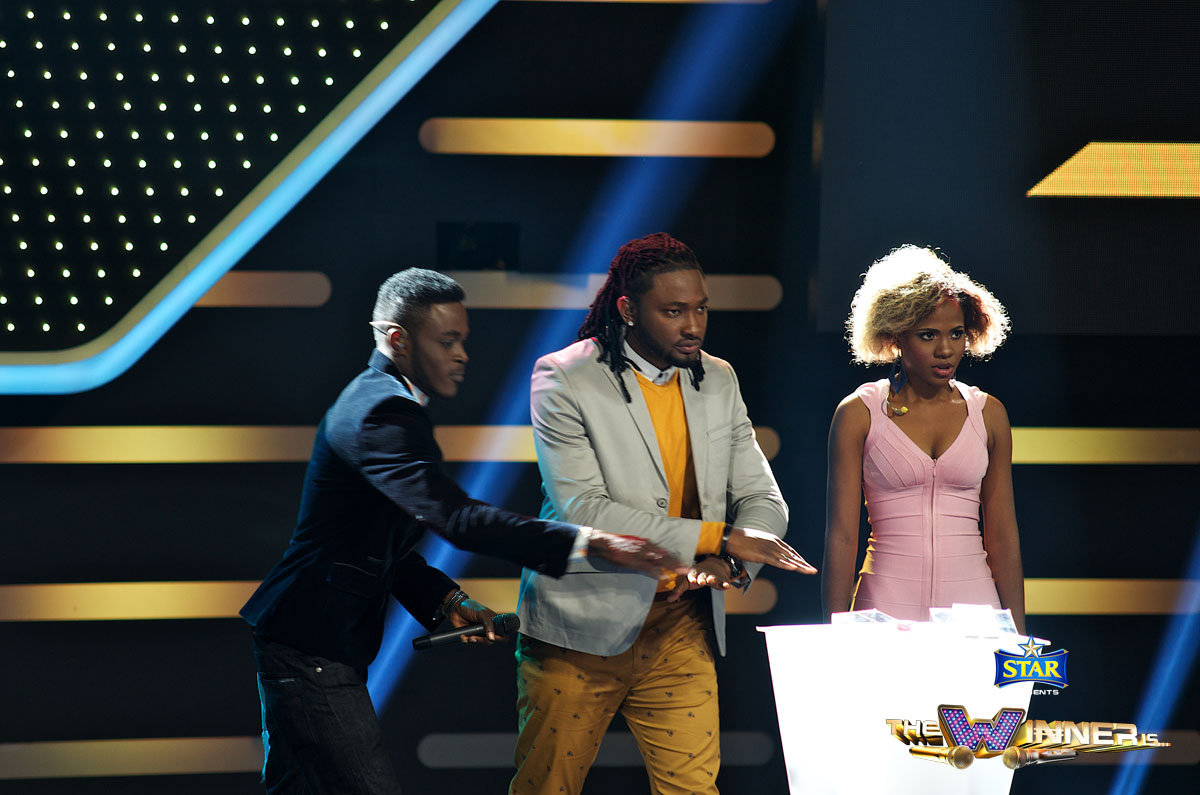 Kelvin James walks away with 100,000 naira