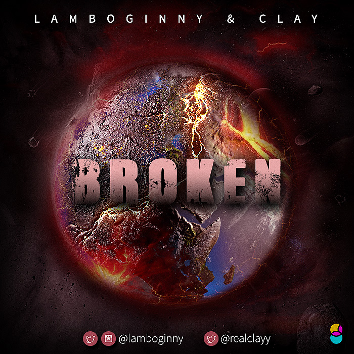 LAMBOGINNY & CLAY - Broken-Art _ tooXclusive.com