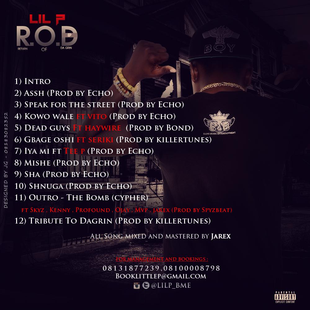 Lil P ROD Back