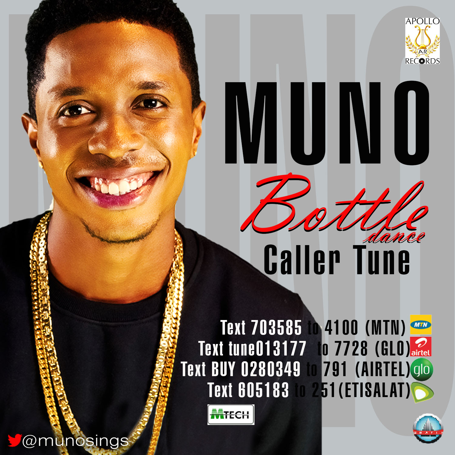 MUNO Bottle Dance caller Tune