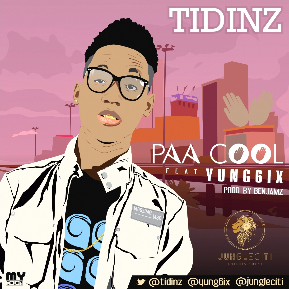 Tidinz - Paa Cool ft. Yung6ix-Art-tooXclusive.com