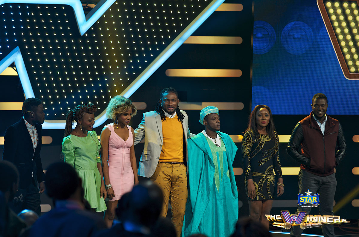 Uti Nwachukwu and Episode 7 contestants