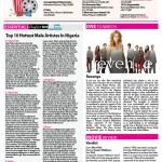 tooXclusive Top10 Chart featured on Leadership Newspaper