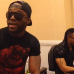 VIDEO: Iyanya + Flavour Live Backstage Freestyle in DC