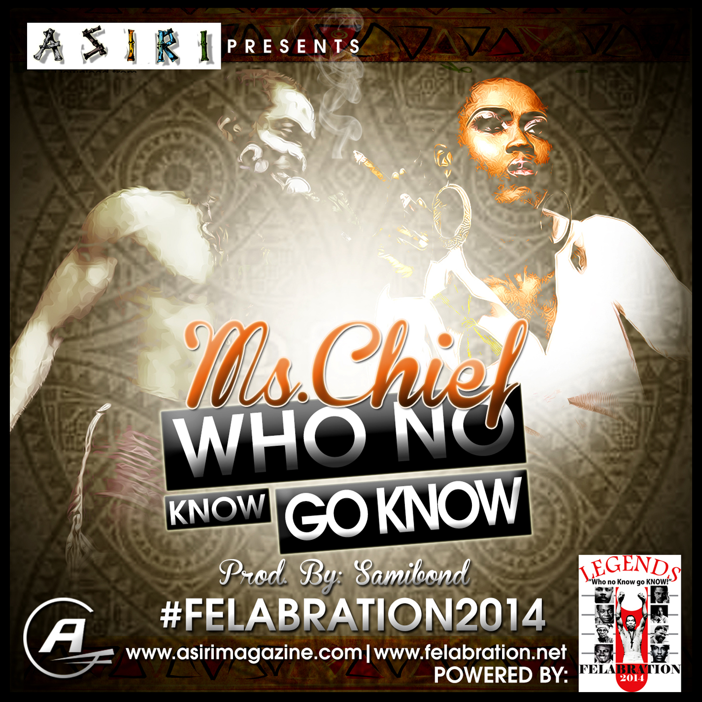 Ms Chief - Who No Know Go Know-Art