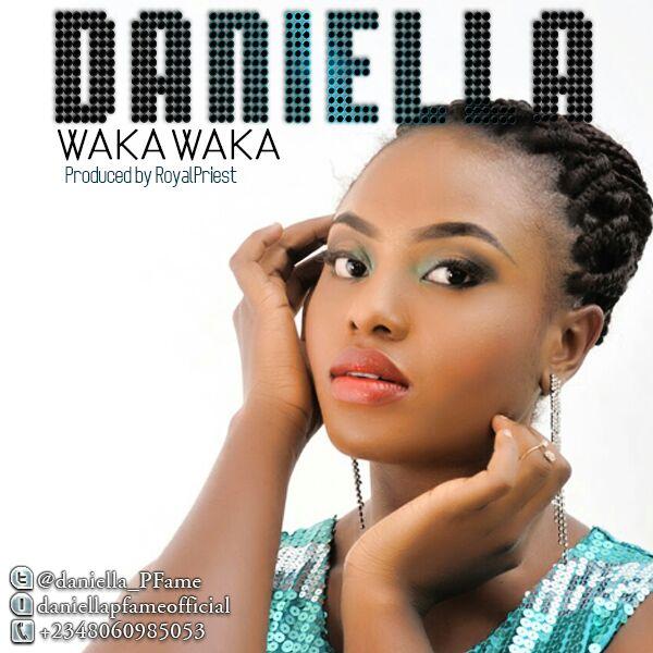 Daniella - Waka Waka-Art-tooXclusive.com