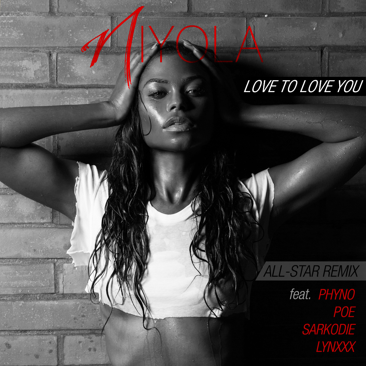 Niyola Artwork - Love To Love You Remix ft. Phyno, Sarkodie, Lynxxx and Poe