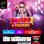 LIVE IN GIDI PRESENTS DAVIDO & FRIENDS CONCERT – DECEMBER 27TH 2014