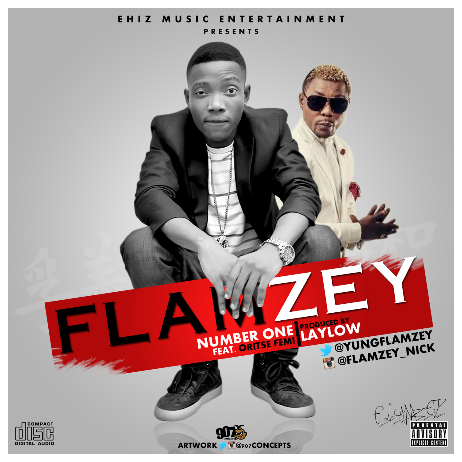 Flamezy - Number 1 ft. Oriste Femi-Art