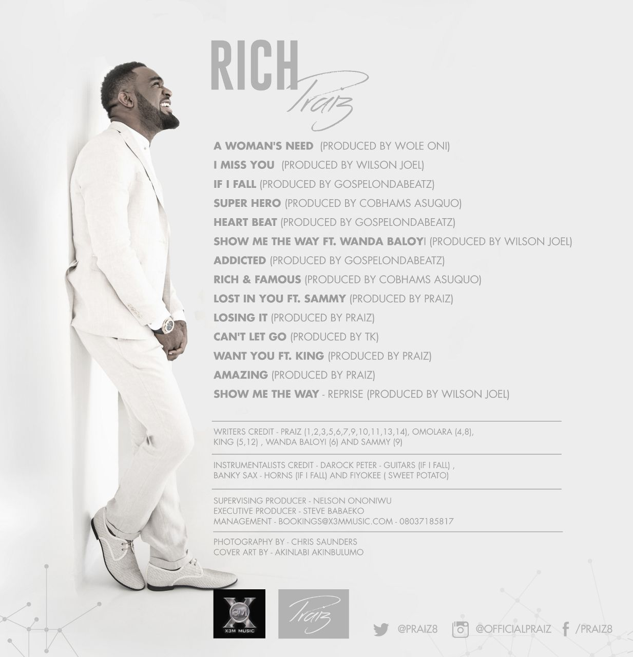 Praiz - Rich (Album Art)-Back