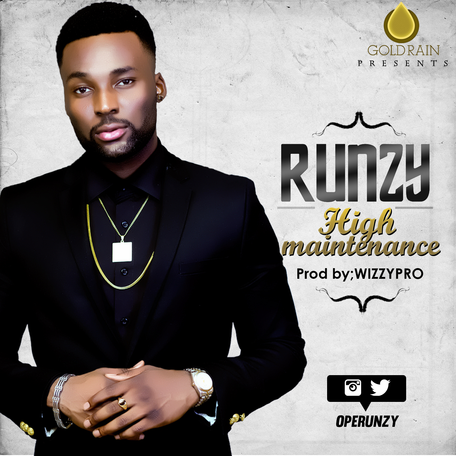 Runzy - High Maintenance-Art