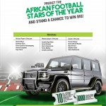 WIN A MERCEDES BENZ G-WAGON & MORE IN GLO CAF AWARDS PROMO!