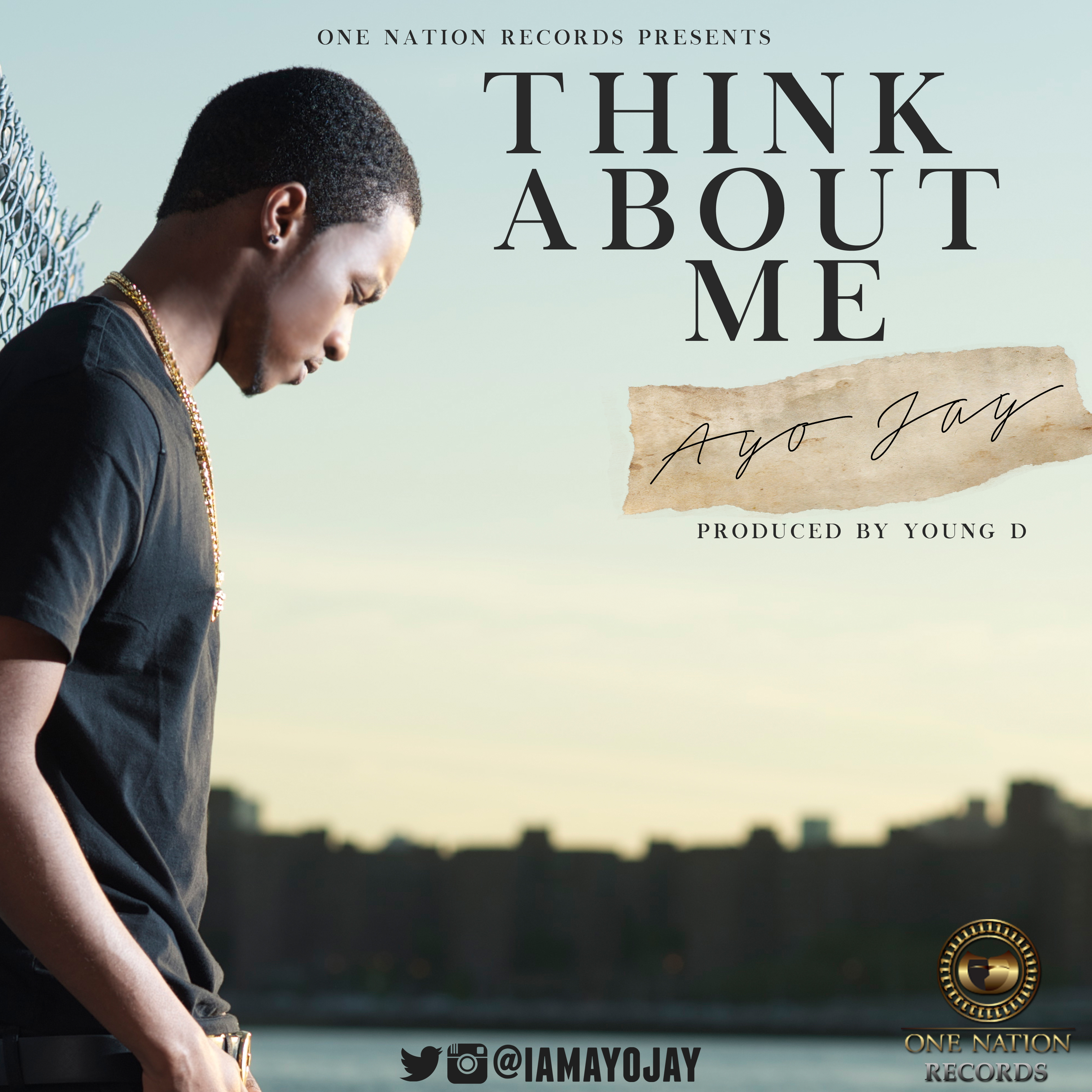 Ayo Jay - Think About Me -Art