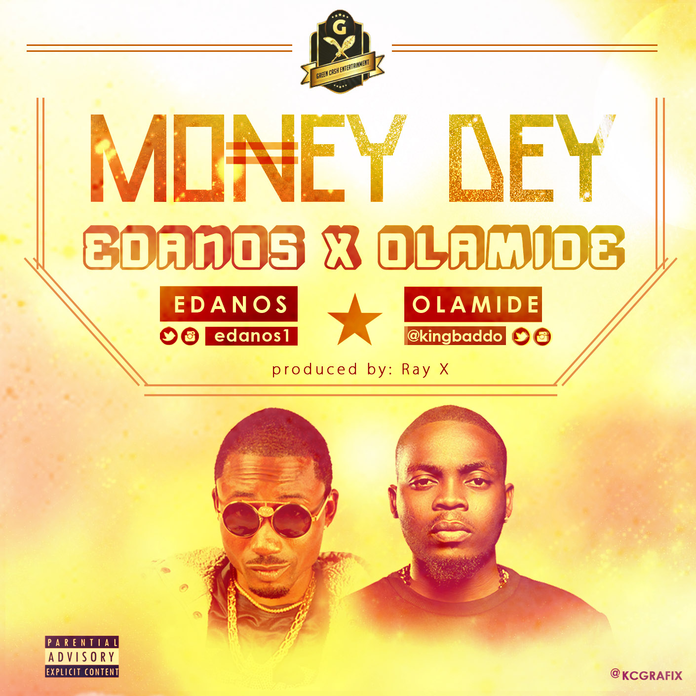 Edanos x Olamide - Money Dey Art