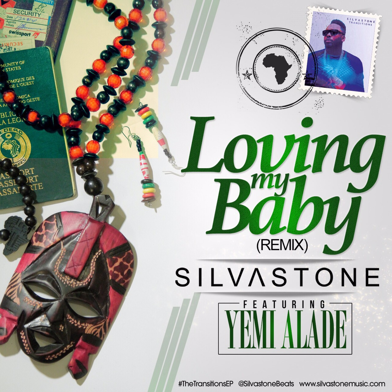 Silvastone - Loving My Baby (Remix) ft. Yemi Alade-Art
