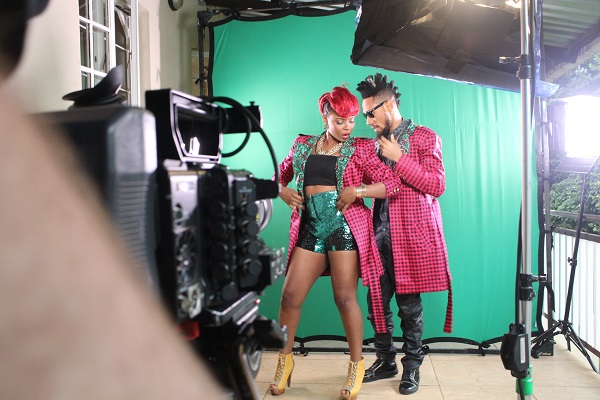 Yemi Alade - Taking Over Me [Video Shoot] (10)