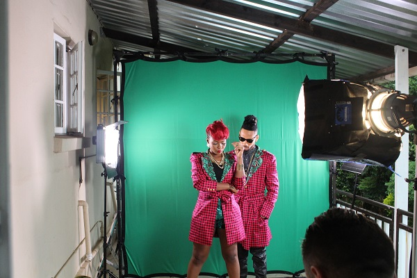 Yemi Alade - Taking Over Me [Video Shoot] (8)
