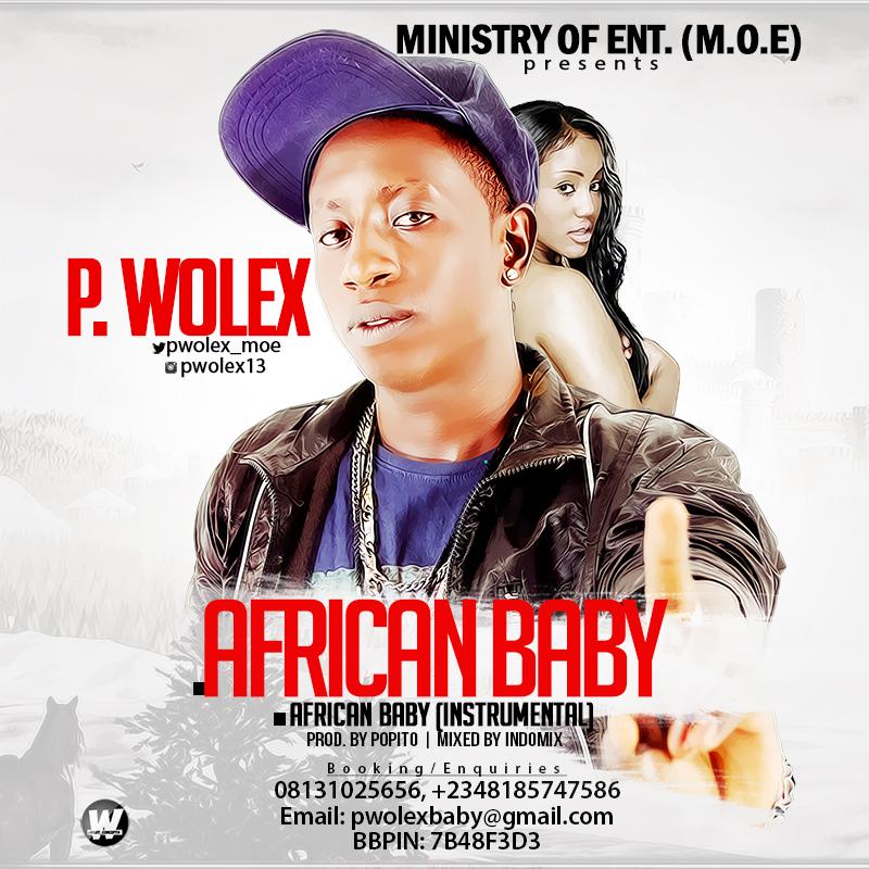 P Wolex - African Baby-Art