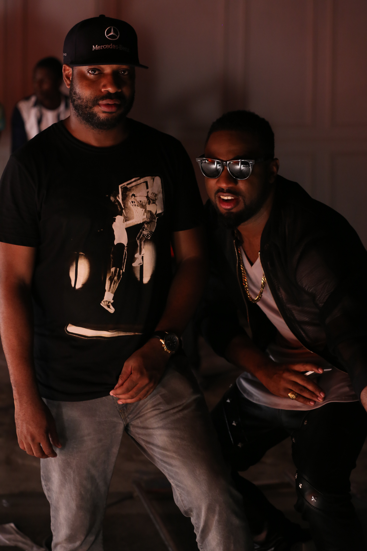 Praiz Shoots 'Sisi' video featuring Wizkid (10)