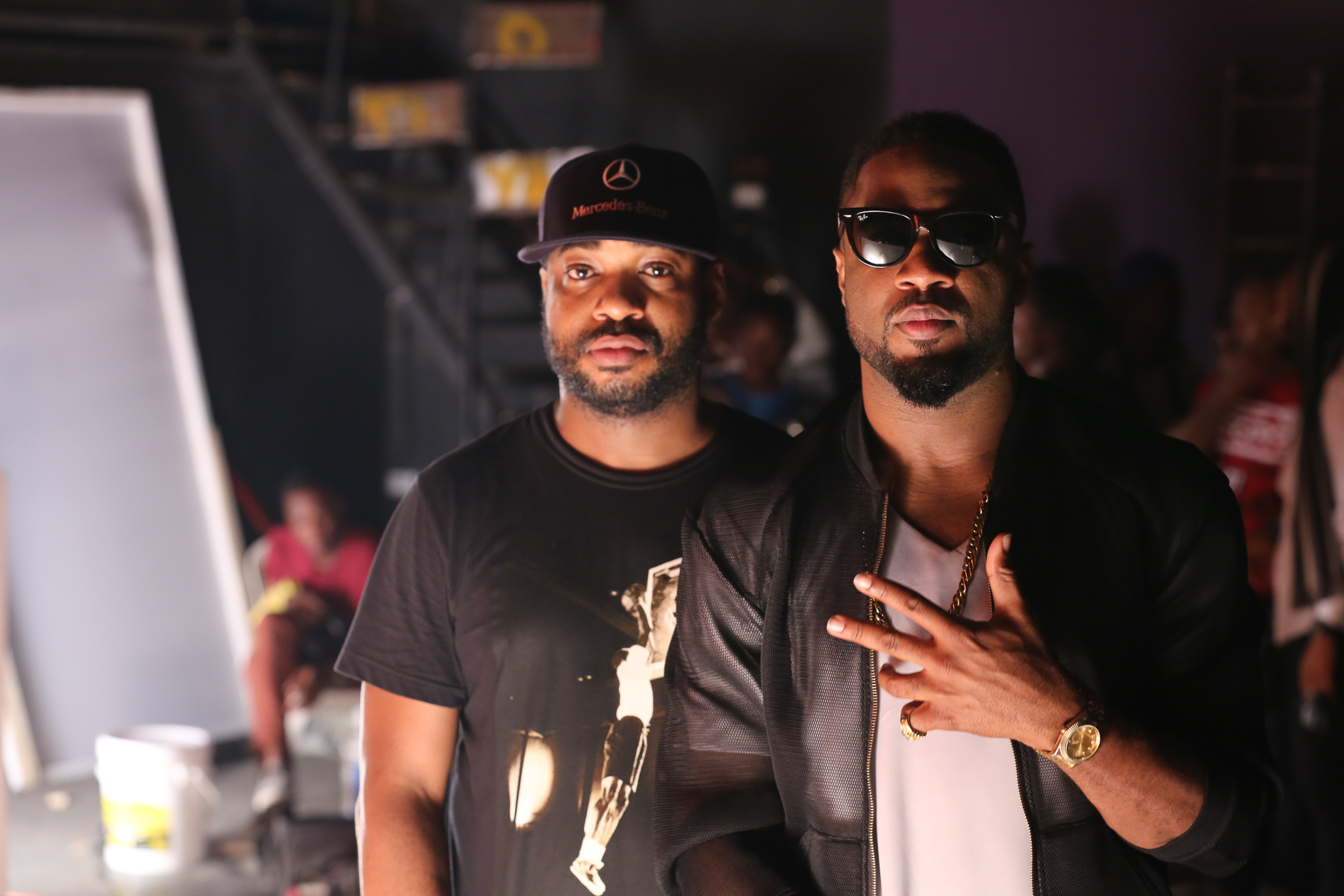 Praiz Shoots 'Sisi' video featuring Wizkid (11)