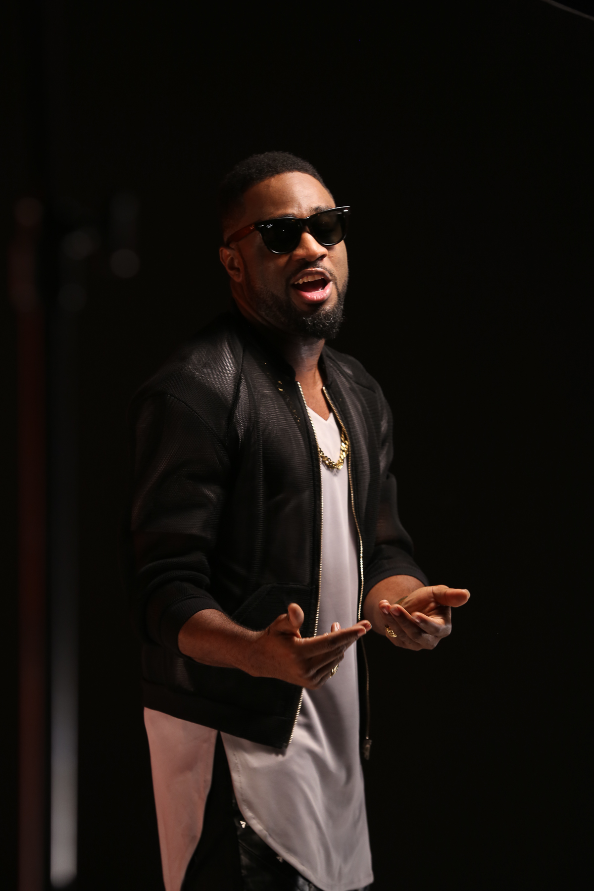 Praiz Shoots 'Sisi' video featuring Wizkid (4)