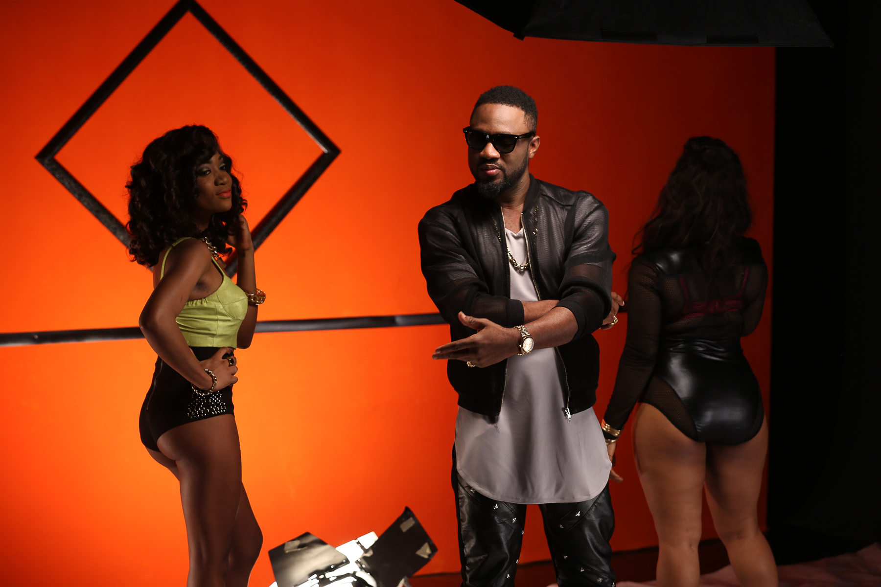 Praiz Shoots 'Sisi' video featuring Wizkid (8)