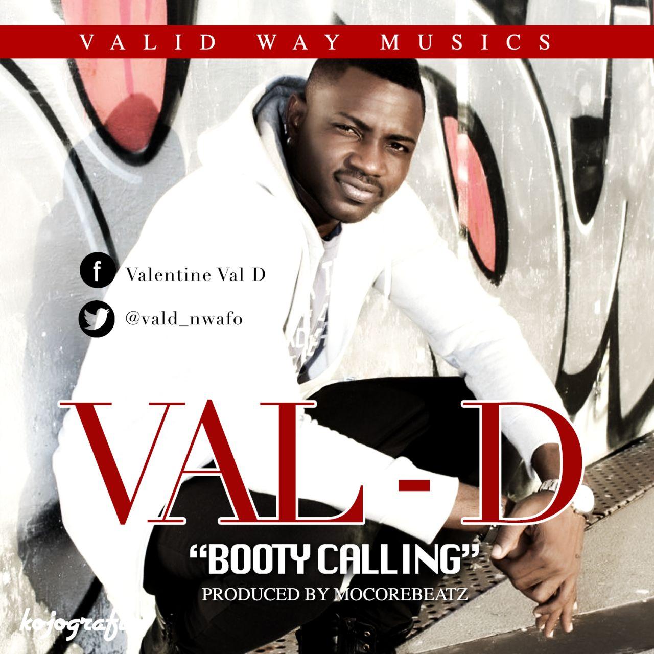 Val-D - Booty Calling-Art