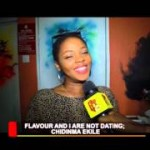 VIDEO: Chidinma Speaks On Shared Kiss with Flavour