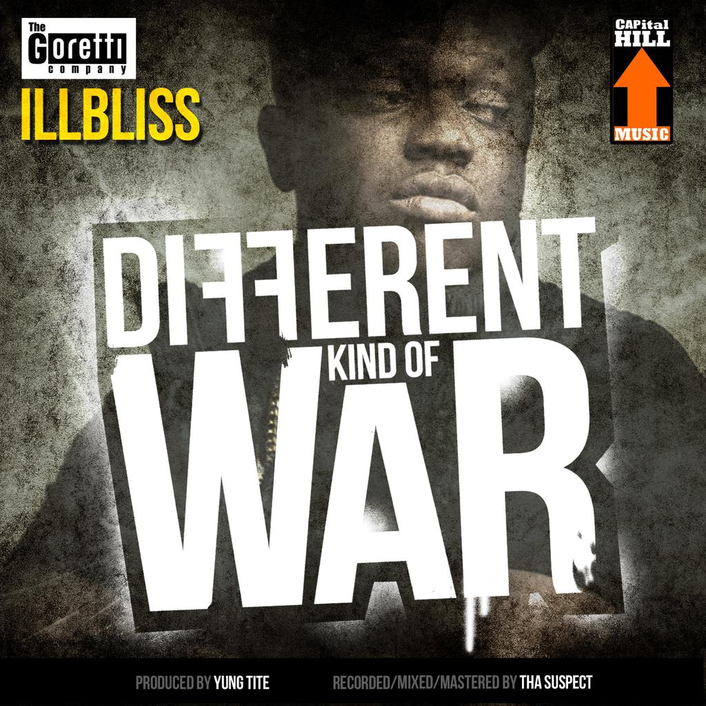 iLLbliss - Different Kind Of War-Art
