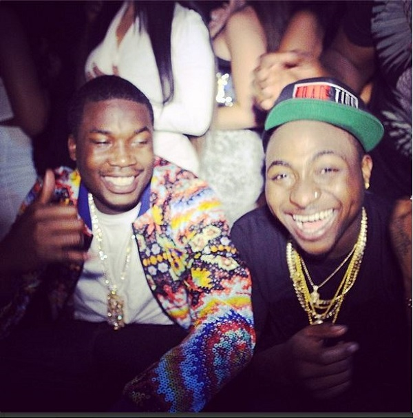 Davido-hangs-out-with-Meek-Mill