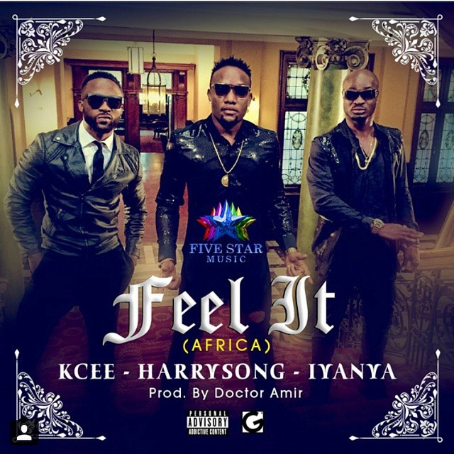 Kcee x Harry Song x Iyanya - Feel It (Africa)-Art