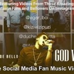 "VIDEO: Korede Bello – ""God Win"" (#Bellovers Social Media Fan Video)"