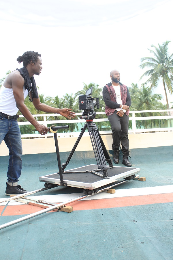 Percy - Bonnie & Clyde ft. Solidstar B-T-S Photo (9)