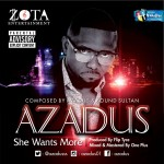 "Azadus – ""She Wants More"" ft. Sound Sultan (Prod. by Fliptyce)"