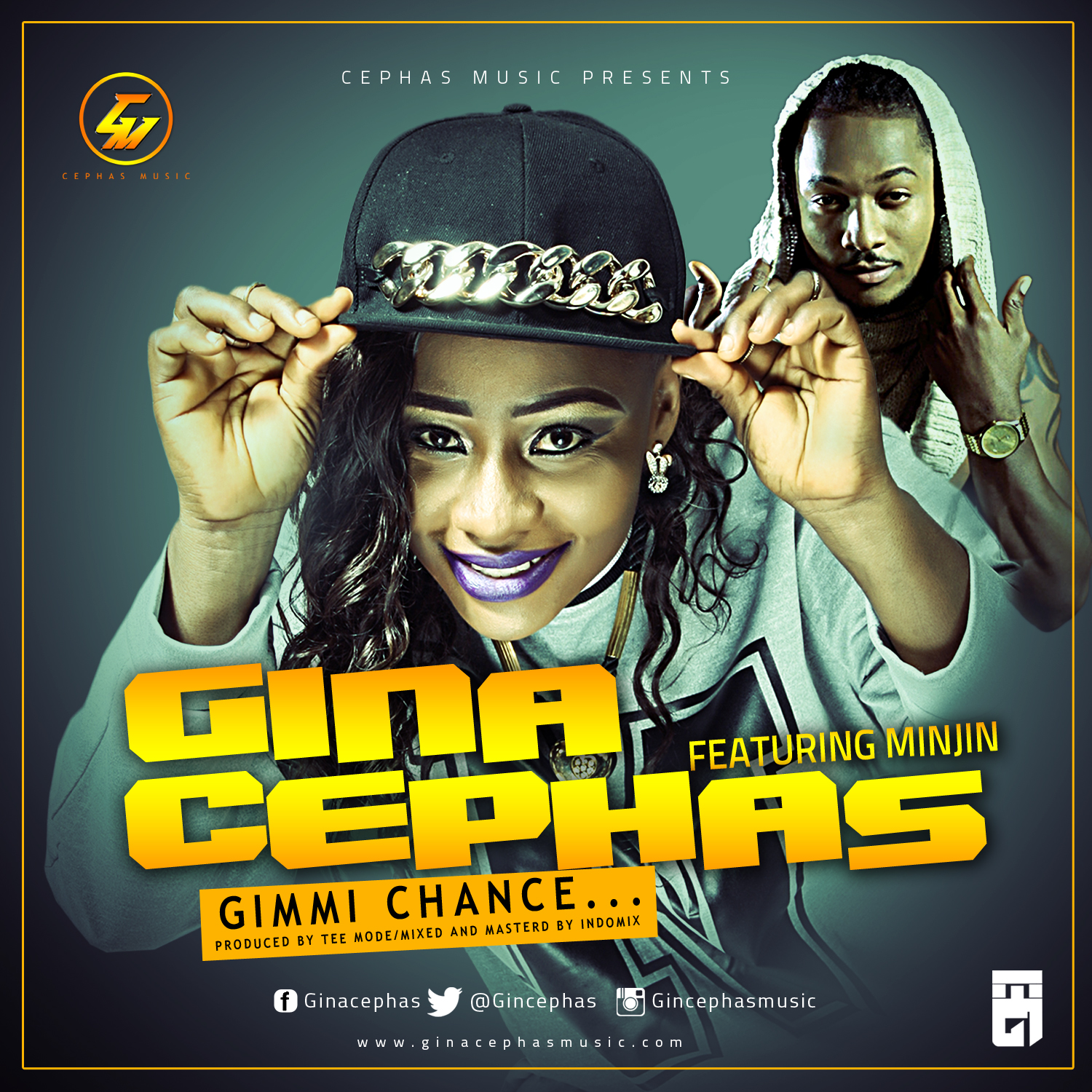 Gina Cephas - Gimmi Chance ft. Minjin-ART