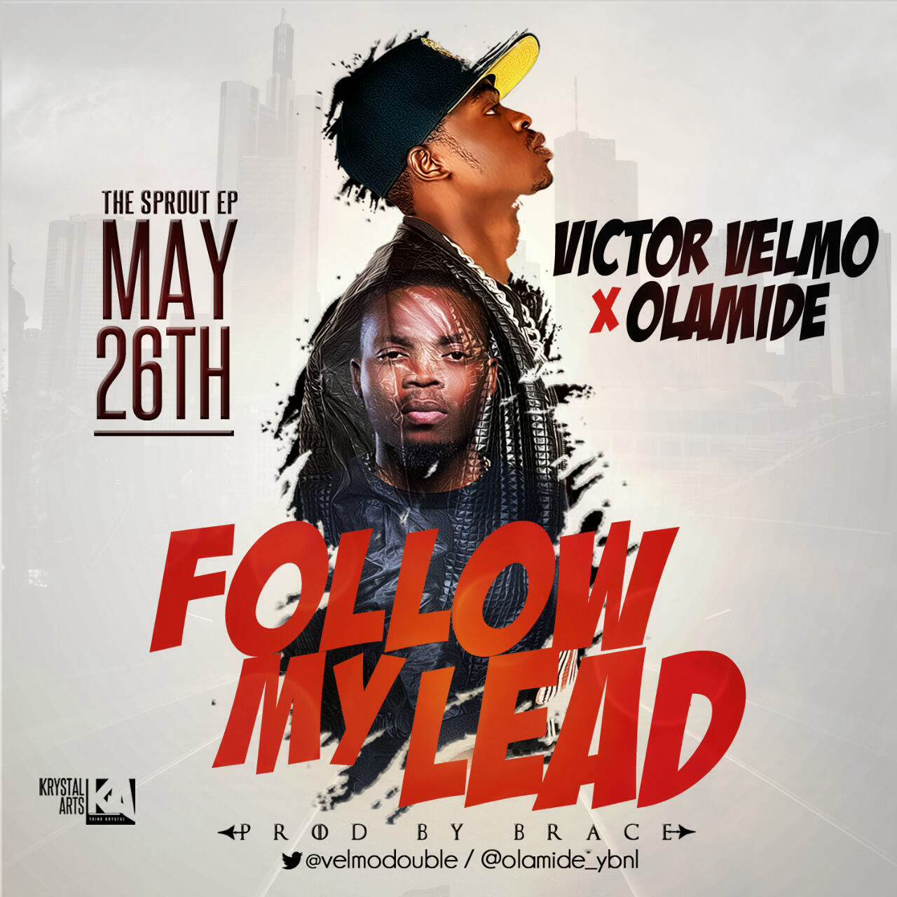 Victor Velmo - Follow My Lead ft. Olamide-ART