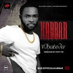 "Kabbar Releases New Promo Pictures + Artwork for New Single ""Whatever"""