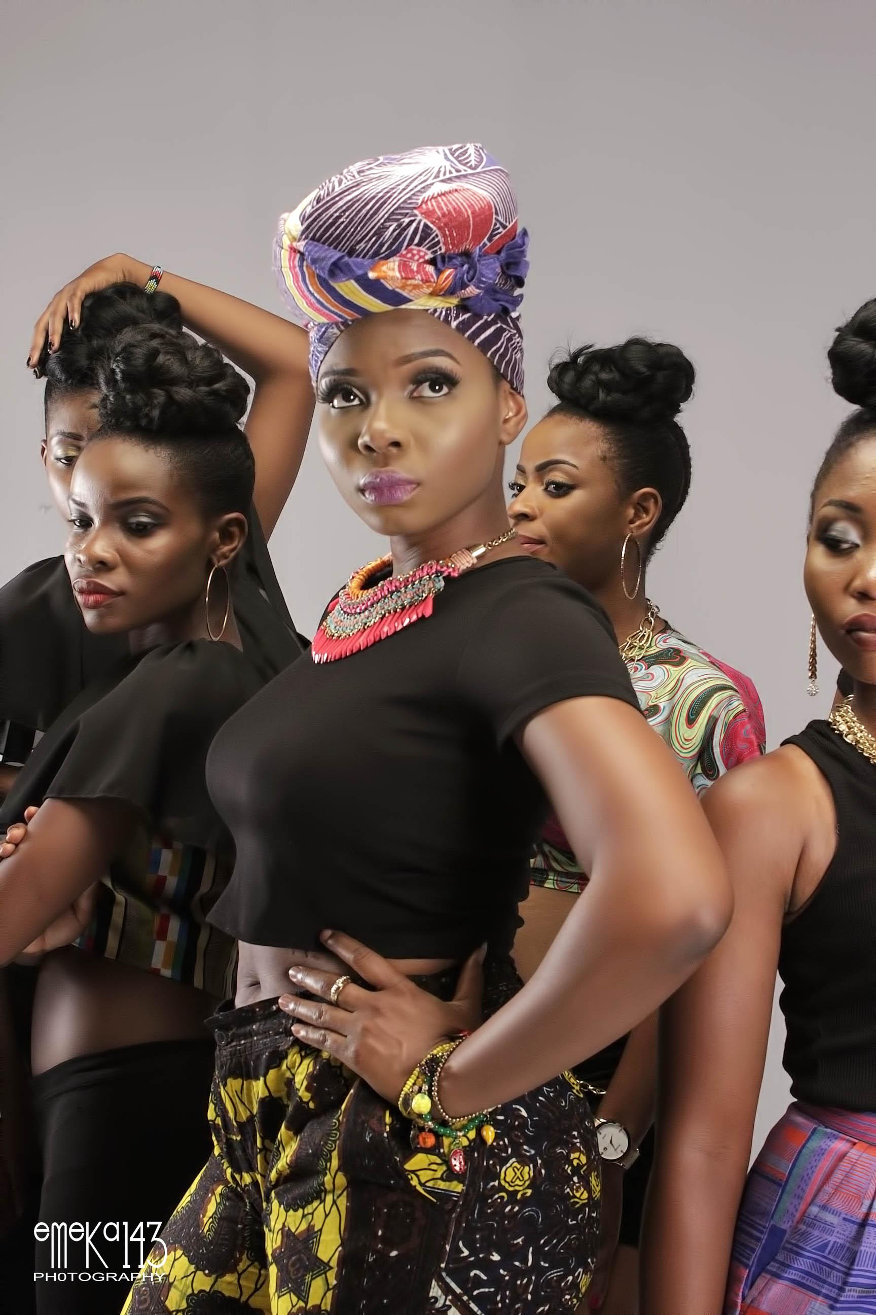 Yemi Alade - Pose B-T-S (10)
