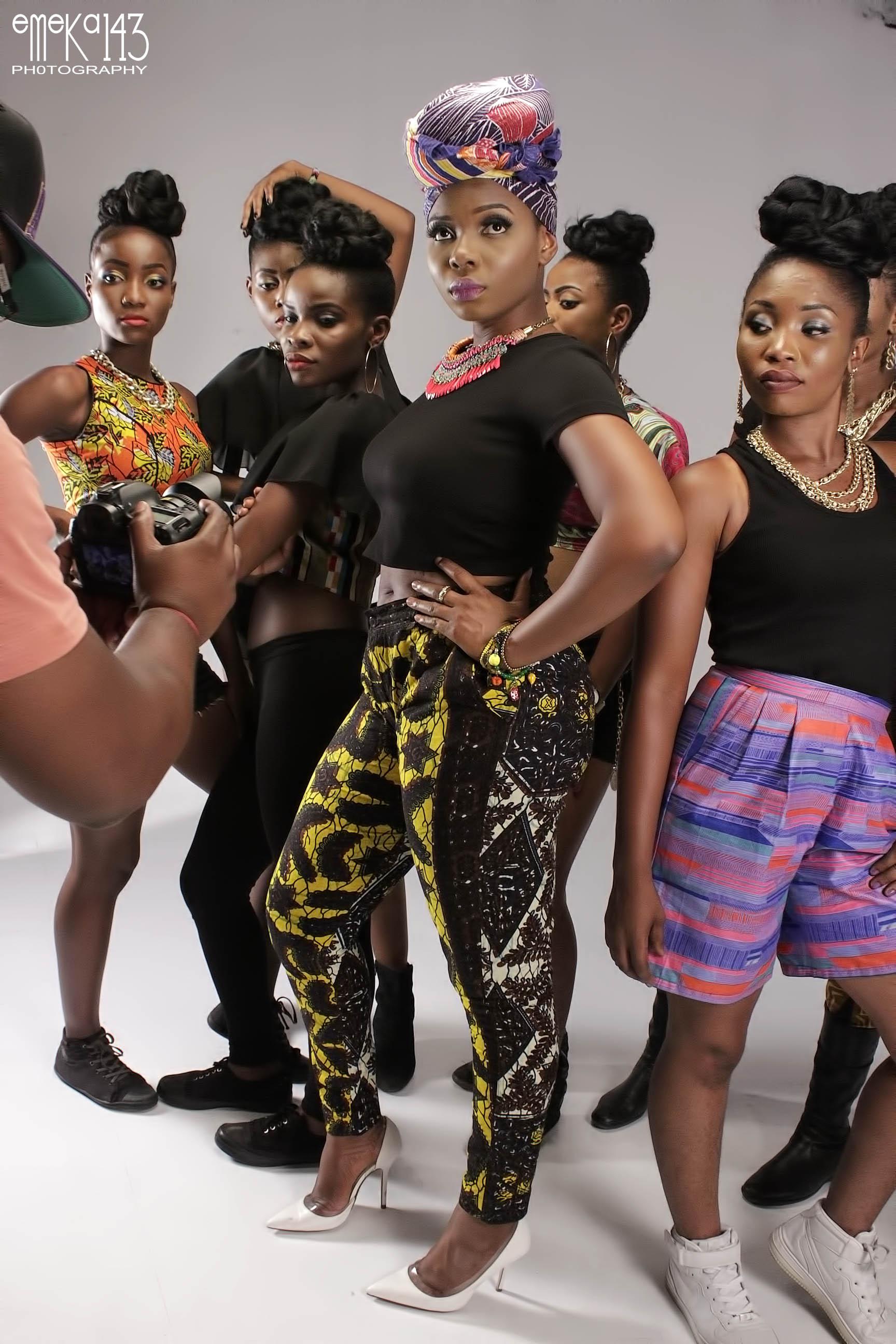 Yemi Alade - Pose B-T-S (9)