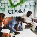 Olamide Renews Etisalat Contract
