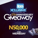 tooXclusive 5th Anniversary Giveaway Week 1 –  WINNERS!!