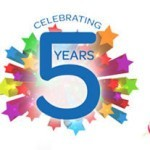 HURRAY… IT'S OUR 5TH YEAR ANNIVERSARY!!!