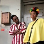 Reggae Loving and Rooftops!  Waje and Patoranking  Behind The Scenes Images for Left For Good Video
