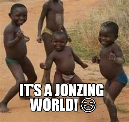 Jonzing world