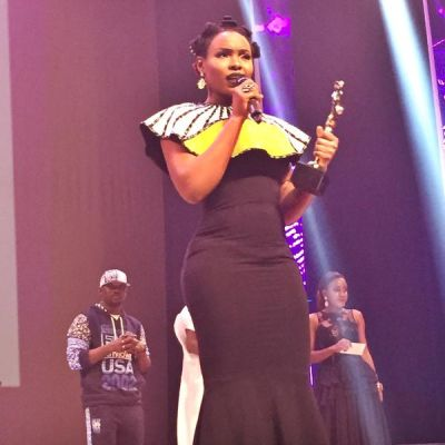 Yemi Alade at the 2015 NEA