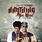 """David Young – """"Anything You Want"""" ft. Jhybo"""